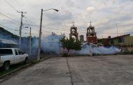 Fumigación en comunidades protege a familias zamoranas contra el dengue