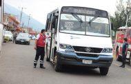 Jacona revisa transporte público con apoyo de la Guardia Nacional