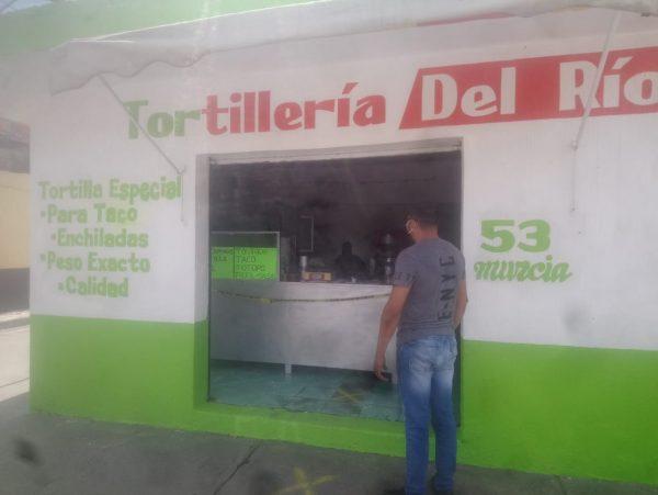 Tortilleros comenzaron a adoptar medidas preventivas contra COVID 19