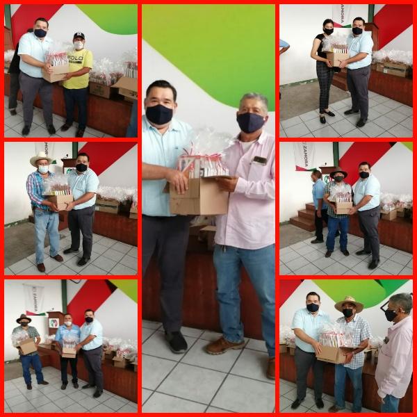 PRI Zamora continúa labor social para respaldar a los que menos tienen