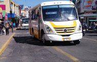 Sin alumnos en las escuelas, transporte público en crisis