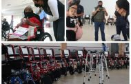"""Adriana y fundación """"Vamos México"""" entregaron apoyos para personas discapacitadas"""