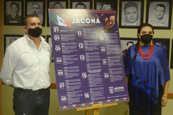 Jacona tendrá celebración virtual de las fiestas patrias