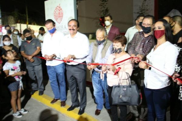 """Inauguran """"plazoleta del Altar"""" en la Avenida Luis Hernández y Galeana"""