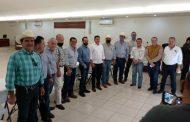 Se reúne Feliciano Flores con los distritos de riego del Rio Yaqui y Rio Mayo en Sonora.
