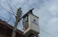 Mejora seguridad con reparación de luminarias y cambios a Led en Jacona