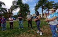 Rehabilitan áreas verdes en El Campanario