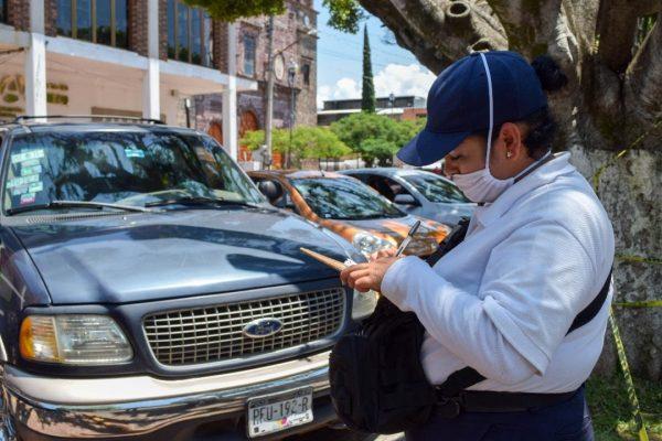 Promueven cultura vial en Tangancícuaro