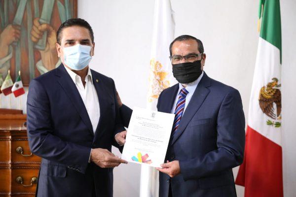 Nombra Gobernador a Miguel Wilfrido Machado como Consejero Jurídico del Ejecutivo
