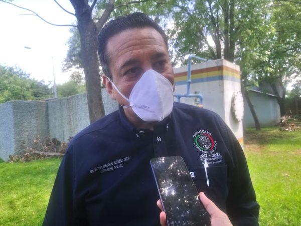 Sindicalizados del ISSSTE Zamora piden garantías para trabajadores vulnerables