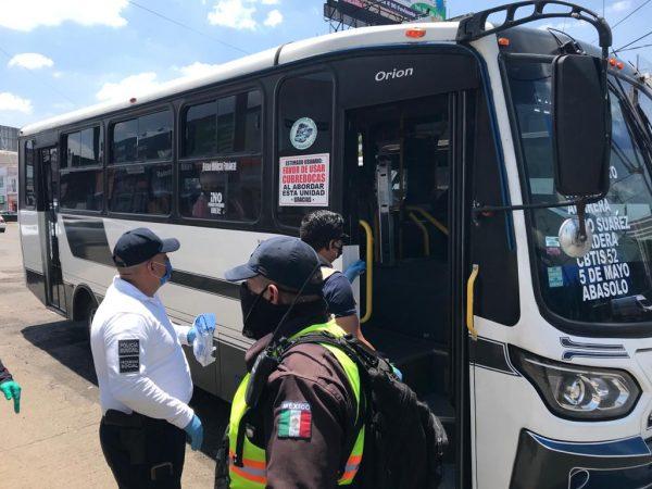 A cuidar la salud de usuarios del transporte público