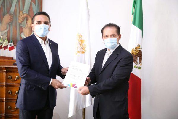 Nombra Gobernador a Carlos Río Valencia como nuevo secretario de Desarrollo Social y Humano