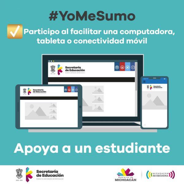 Prioridad, que las y los jóvenes de Michoacán continúen con su trayectoria académica: SEE