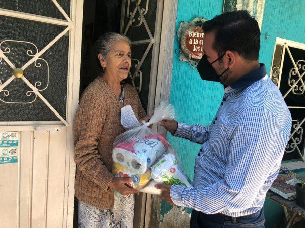 Continúa DIF Jacona asistencia social a las familias afectadas por las lluvias