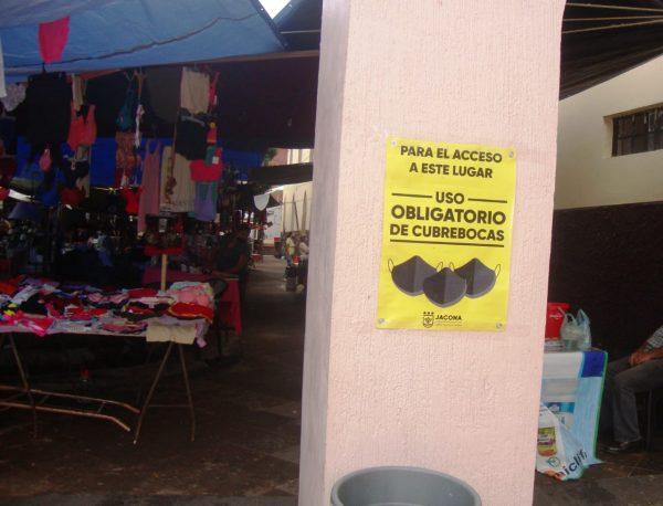 Llama Jacona a no relajar medidas; sigue alto el riesgo de contagios