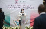 En Jacona conmemoraron el 210 Aniversario de la Independencia de México