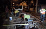 Reparamos loza dañada en Circuito Vial Galeana