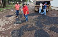 Intensificamos labores de mantenimiento a vialidades
