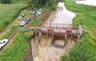 Mantenemos el monitoreo de presas, canales y ríos