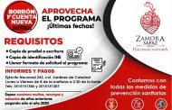 Invitan a aprovechar Borrón y Cuenta Nueva en SAPAZ