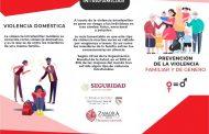 Trabaja Zamora en la prevención de violencia de género