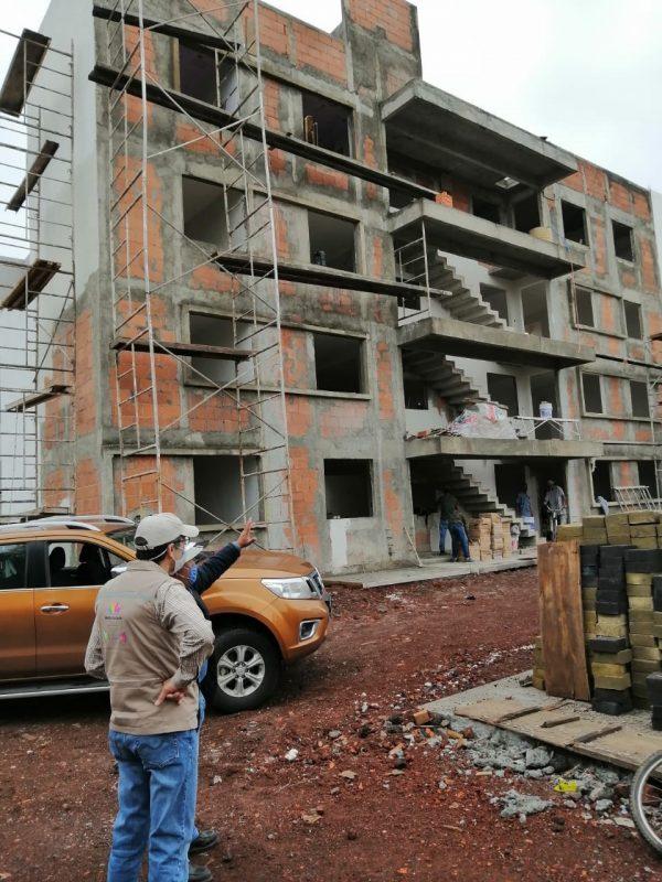 Revisa ProAm cumplimiento ambiental en construcción de conjunto habitacional en Zamora