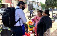 Arturo Hernández atiende de manera directa necesidades de la ciudadanía