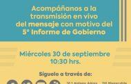 Rendirá Silvano Aureoles Quinto Informe de Gobierno virtual este 30 de septiembre