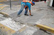 Construyen rampas para discapacitados en zona Centro de Zamora