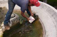 Rehabilitan fuentes de la Plaza del Teco y Las Palomas