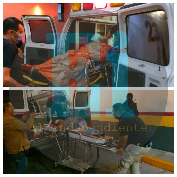 Entre la vida y la muerte pareja baleada en Tangancícuaro