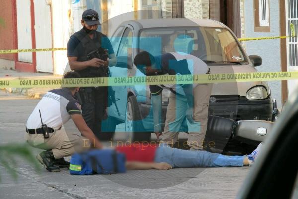 A balazos matan a un joven en la colonia La Florida