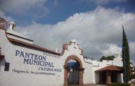 Panteón de Jacona permanecerá cerrado el 1 y 2 de noviembre
