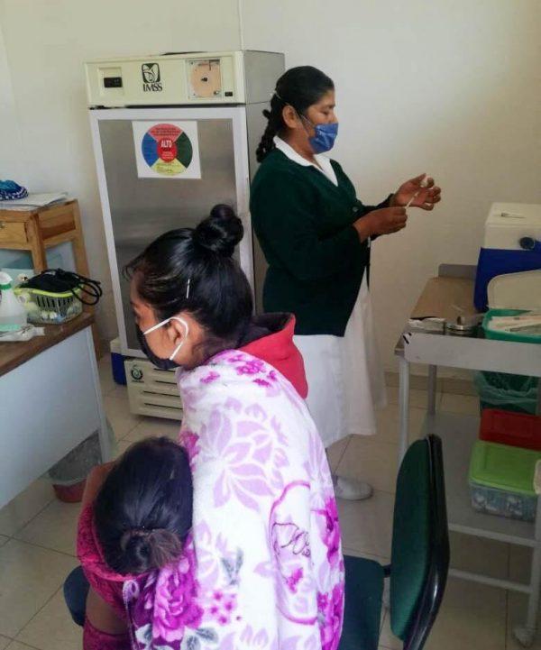 Salud de los infantes prioridad para el Sistema DIF Tangancícuaro