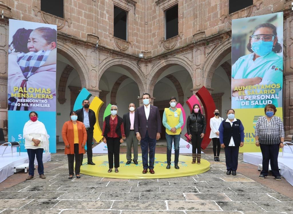 Charla Gobernador con ciudadanos sobre 5 años de acciones en Michoacán