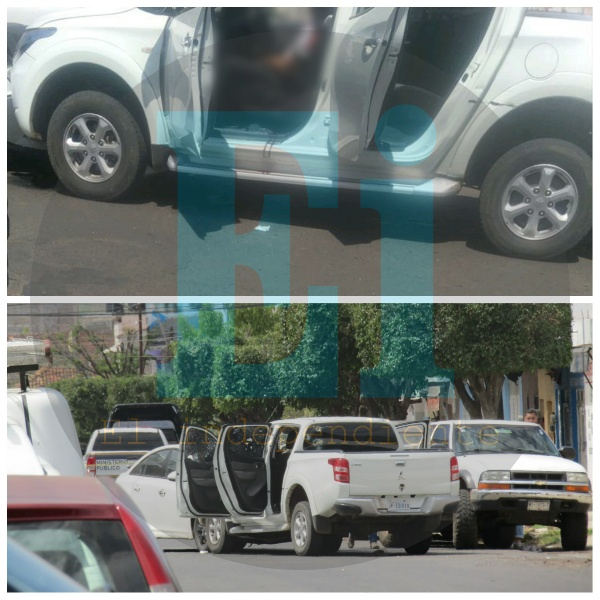 """Matan a """"El Huarache"""", mientras manejaba una camioneta en Tangancícuaro"""