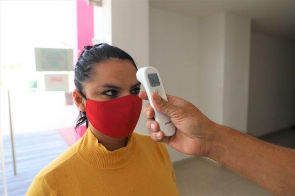 Más de 34 mil filtros sanitarios, instalados desde el inicio de la emergencia por COVID-19