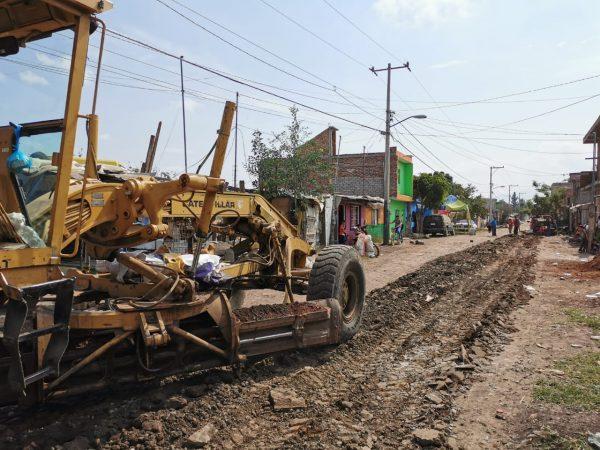 Trabaja el Gobierno de Zamora en la colonia Ferrocarril Sección 4