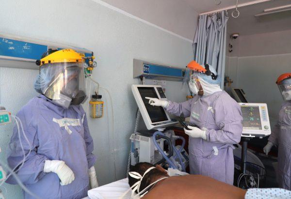 Ganarle la batalla al COVID-19, la mejor satisfacción del personal de salud