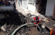Resuelve SAPAZ fugas de agua potable