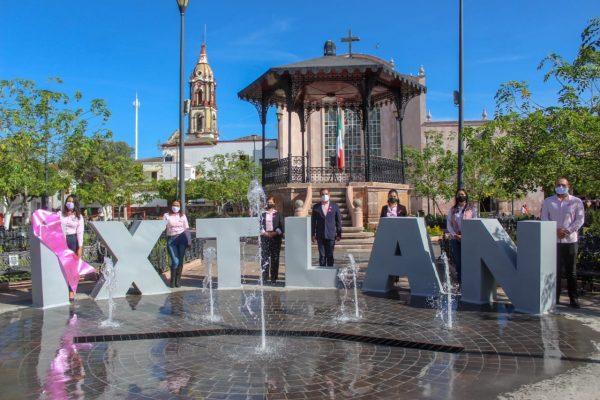 Ángel Macías conmemoró día internacional de la lucha contra el cáncer de mama en Ixtlán
