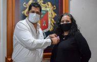 Sensibilizan a la población contra el cáncer de Mama en Tangancícuaro