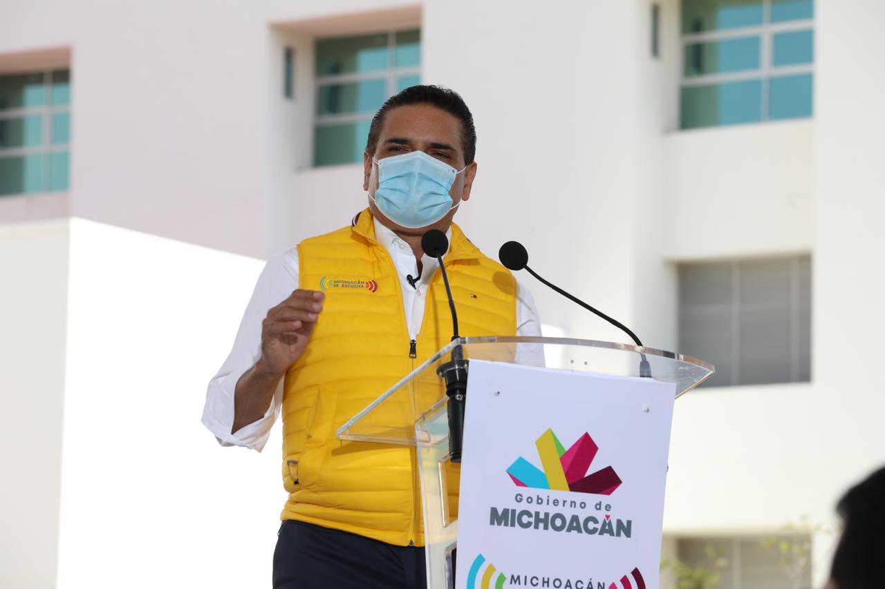 Ciudad Salud de Michoacán, una realidad: Silvano Aureoles