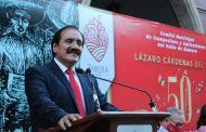 Recuerdan legado de Gral. Lázaro Cárdenas en su 50 aniversario luctuoso