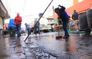 Avanza plan de limpieza y mejoras en mercados municipales de Zamora