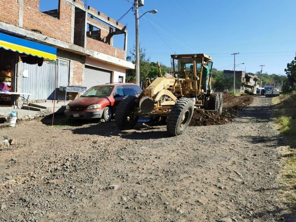 Mejora OP Zamora acceso a colonia 2 de Octubre