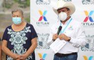 En Ixtlán, inician rehabilitación de calle Juárez de la colonia Santa Cruz en su primera etapa