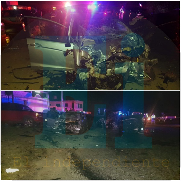 Tres personas muertas y cinco heridas deja trágico accidente en Tingüindín