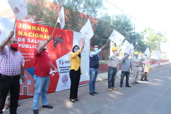 Inicia Semana Nacional de Salud en Zamora