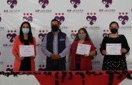 DIF de Ecundureo se une al Trenzatón 2020, hace entrega de cabello donado